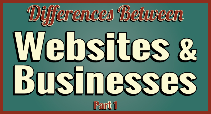 Differences Between Websites and Businesses
