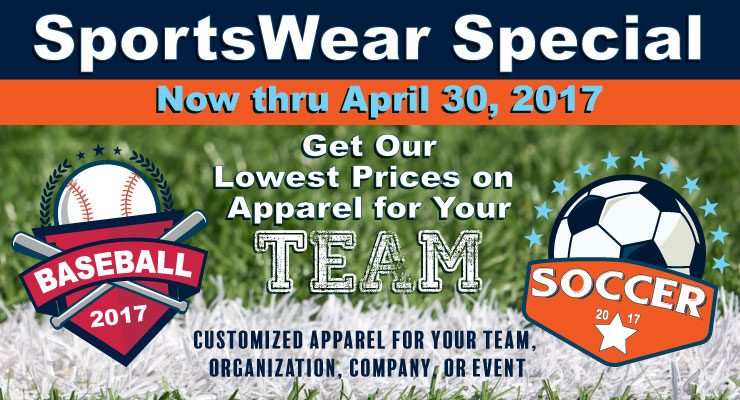 Sportswear Special | Two Creative Design Group
