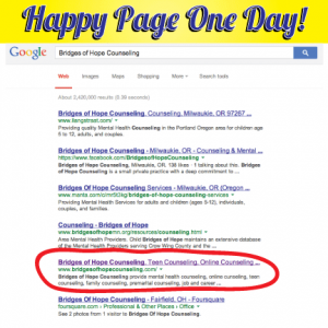 Happy Page One Day
