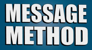 Message Over Method