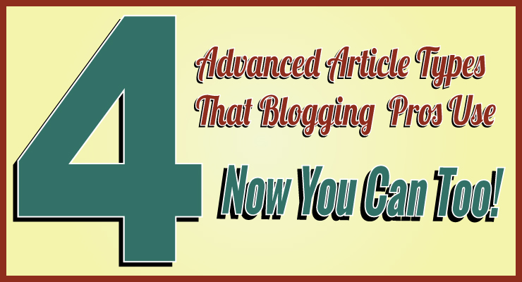 4 Advanced Article Types