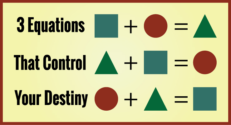 3 Equations That Control Your Destiny
