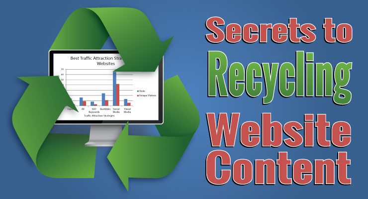 Secrets to Recycling Website Content