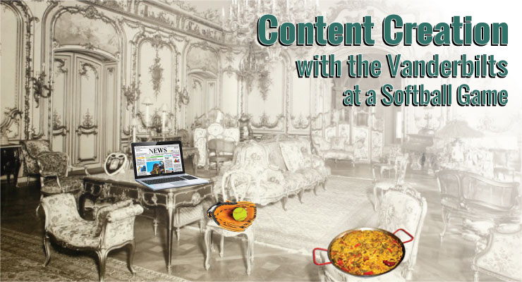 Content Creation with the Vanderbilts