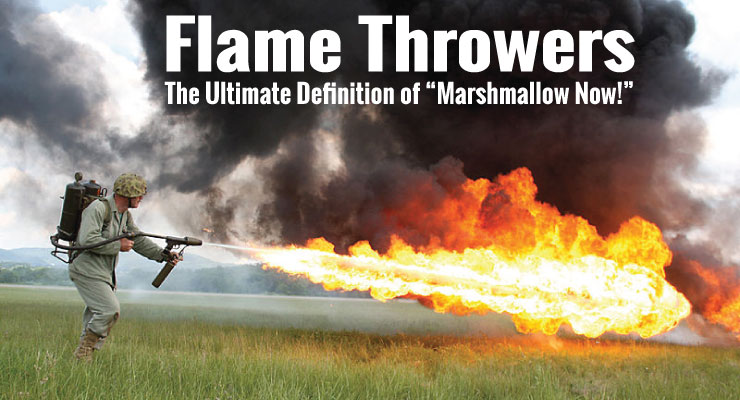 Never Roast Marshmallows With A Flame Thrower | Top 10 Bad Content Creation Plans